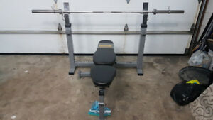 Powertec Olympic Adjustable Bench Press