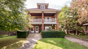FOR LEASE: Victorian 2 Bdrm Unit Minutes Away From Detroit River