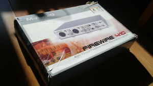 M-AUDIO 1-in/10-out FireWire Mobile Recording Interface