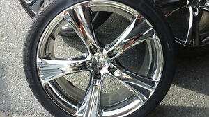 4 Boss Motor sports rims with Nexen low profile tires