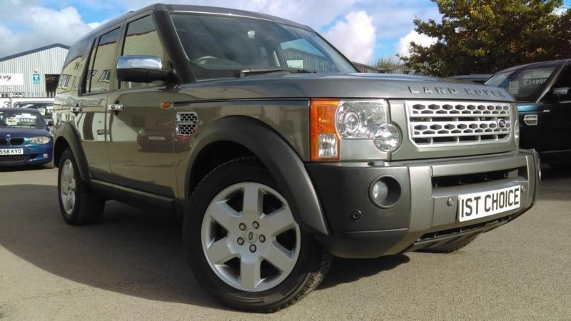 2007 LAND ROVER DISCOVERY 3 TDV6 HSE FITTED WITH 22 INCH POLISHED AND CHROME