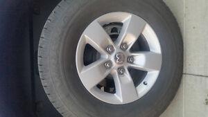 Ram Aluminum wheels