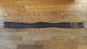 """44"""" Brown Leather Girth"""
