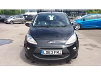 2013 Ford Ka 1.2 Zetec (Start Stop) Manual Petrol Hatchback
