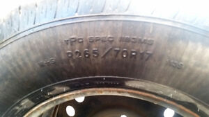 Brand new spare tire and rim London Ontario image 3