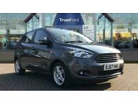 2017 Ford KA+ 1.2 Zetec 5dr ** Air Con ** Manual Hatchback Petrol Manual