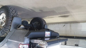 Ford ranger rear bumper with receiver hitch