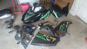 PARTS PIECES Arctic cat cfr crossfire 800 2010 Gatineau Ottawa / Gatineau Area image 5