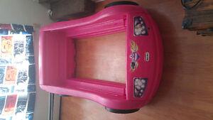 Toddler race car bed(pink)GONE