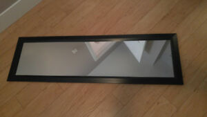Full length mirror available - $10