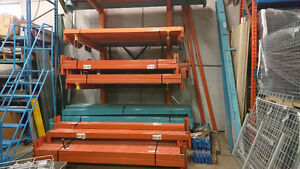 USED PALLET RACKING - Quick Ship