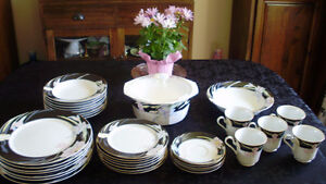 Vintage Fine China by Mikasa - Charisma Black for Sale