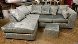 Corner sofa (delivery available
