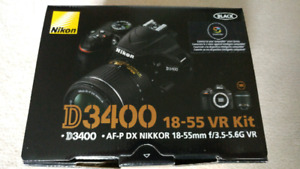 Nikon D3400 Kit and Accessories