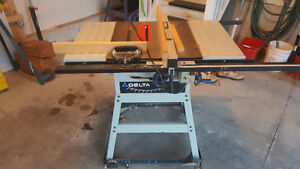 """Table Saw, 6""""Jointer and Wood Lath"""