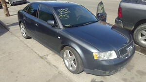 2002 2003 2004 2005 Audi B6 1.8  Parts Engine Transmission