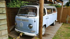Volkswagen Campervan T2 1971RIGHT HAND DRIVE in SkyBlue &