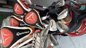 Complete set of Premium clubs, bag and balls