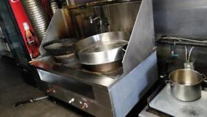**COMMERCIAL CHINESE WOK*ONLY$1450