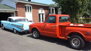 GMC 1968 COMME NEUF SHORT BOX STEP SIDE ANTIQUE Model 910(comme