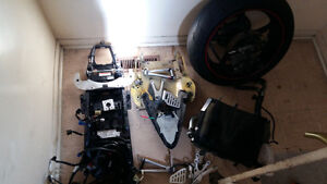 Part out for Yamaha R6
