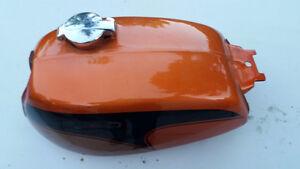 1971 Honda CL350K1 Scrambler Tank Candy Topaz Orange