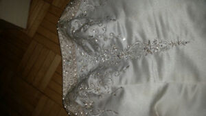Wedding dress for sale or for materials