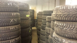 OVER 500 SETS OF GOOD USED WINTER TIRES IN STOCK NOW!
