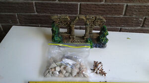 Aquarium decor and shells Kitchener / Waterloo Kitchener Area image 1