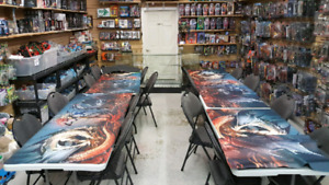 Huge section of mtg magic the gathering singles for sale