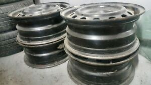 "FULL SET   ""15    Steel Rims  -- 905-870-6195"