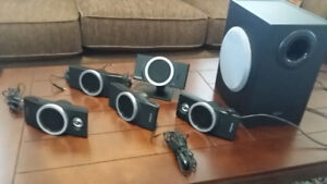 Surround Sound system with four speakers