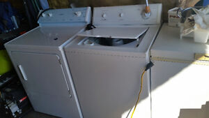 2 year old washer and dryer.