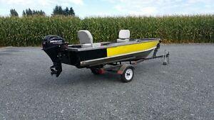 16' Aluminum Boat