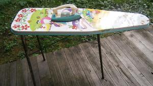 Vintage 1950s Ironing Board Tin Little Bo Peep Child Toy
