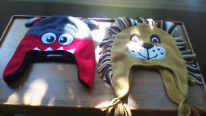 Children's Place Lion and Critter Hats