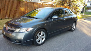 2009 Civic 4dr Automatic DX-G SUNROOF + REMOTE START + FOGLIGHTS