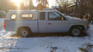 1987 Nissan pickup truck with canopy