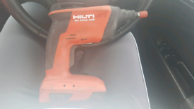 Hilti sd5000 dry wall driver with battery