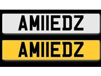 Private plate for salecherished Ahmed Muslim Arab Asian BMW Mercedes ford corsa
