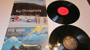 Christmas themed vinyl LP's from 1960's and 70's