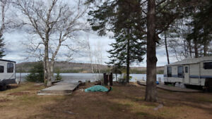 Campsite in Lake St. Peter