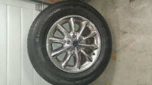 "LANVIGATOR CATCHSNOW WINTER tires with ALLOY Rims 245/65R17"" A Edmonton Edmonton Area image 3"