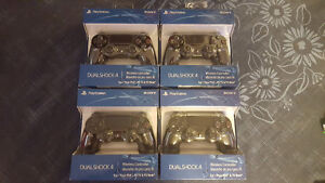 Four PS4 Controllers for sale $55 each
