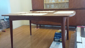 Danish teak dining room table only Kitchener / Waterloo Kitchener Area image 3