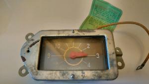 1950 Chrysler clock.