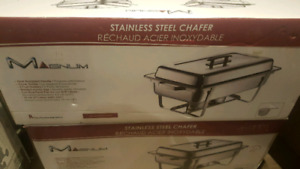 stainless steel chafer 4 sets