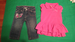 Vêtements fille 12-18 mois girl clothes 12-18 mths