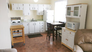 All furnished bachelor suite w wifi & utilities incl