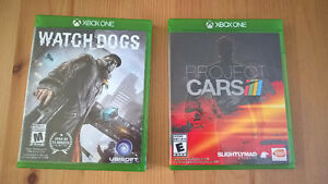 Xbox One - Project Cars & Watch dogs